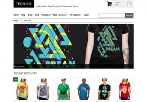 Teeshirt WooCommerce Themes